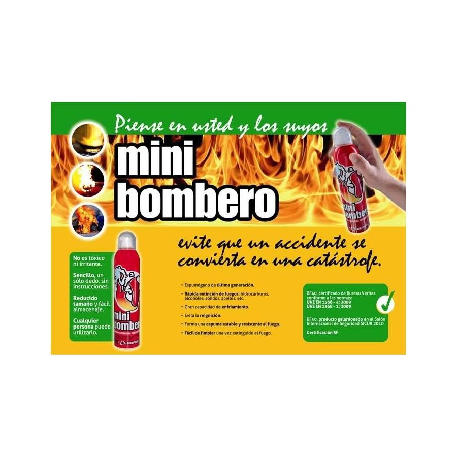 MINIBOMBERO  espumógeno sofoca fuegos barato