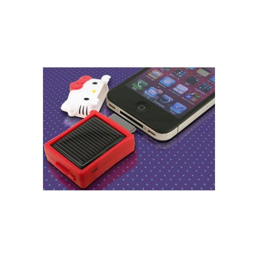 CARGADOR SOLAR Iphone Hello Kitty 3GS 4G 4S Ipod Bateria Barato