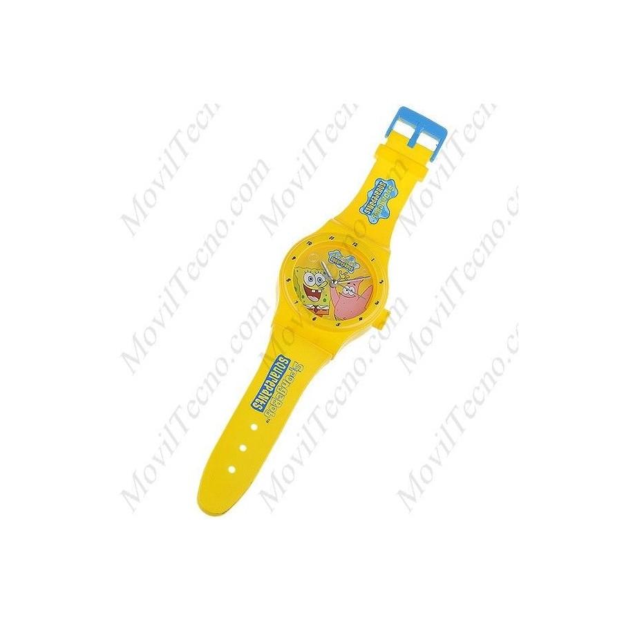 Reloj BOB ESPONJA Grande de pared Infantil Barato