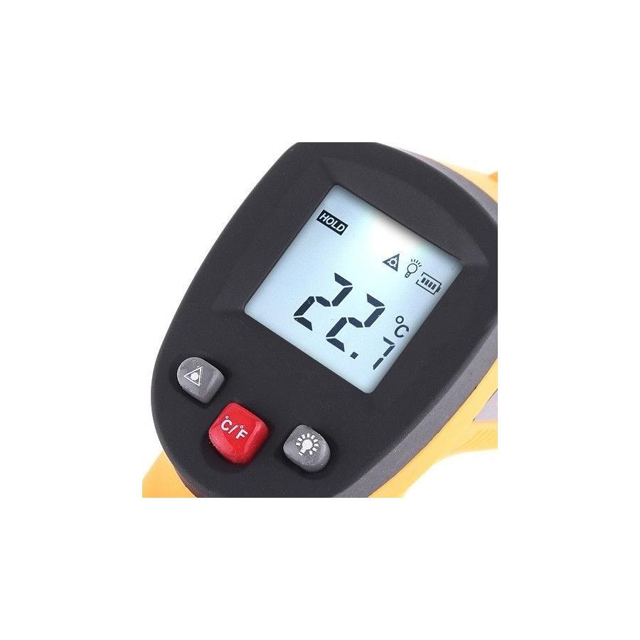 Termómetro digital infrarrojos pistola con mira láser barato