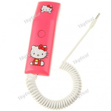 Auricular RETRO Telefono HELLO KITTY para Moviles Barato