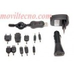 Kit multi-cargador 3 en 1 casa/coche/PC Barato