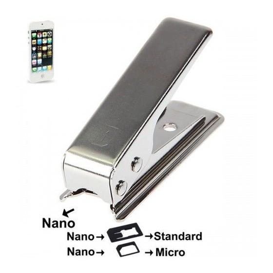 Maquina para cortar tarjetas sim IPHONE 5 Barata