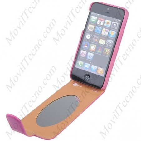 Funda para Iphone 5 Barata en Polipiel de primera calidad