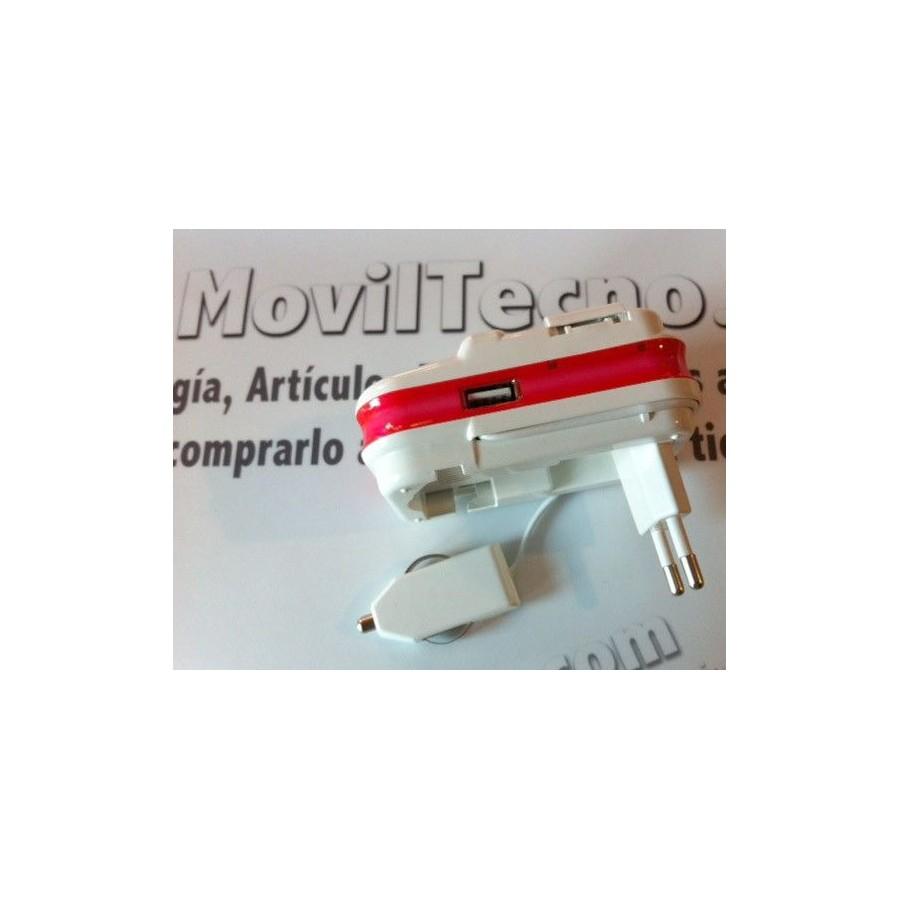 CARGADOR UNIVERSAL de baterias moviles y camaras Barato