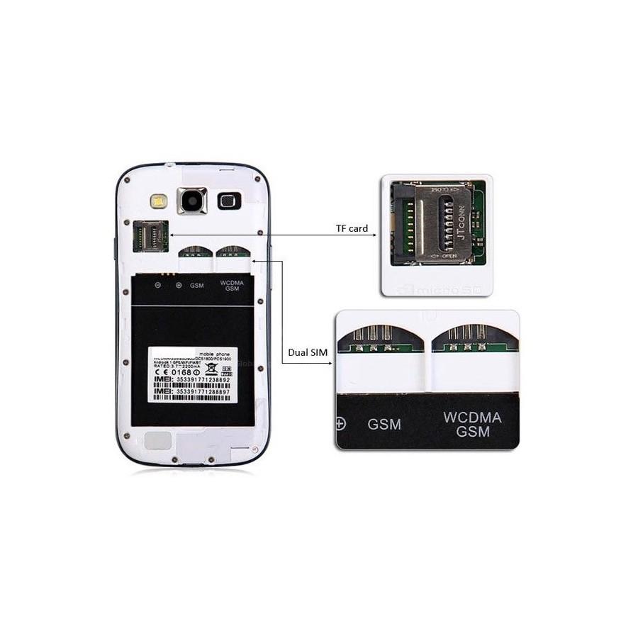 Movil ANDROID de 4,7 Pulgadas Dual Sim WIFI GPS Barato