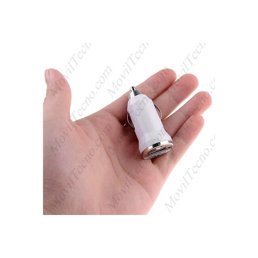 CARGADOR de Coche para IPHONE 5 y cable usb Barato