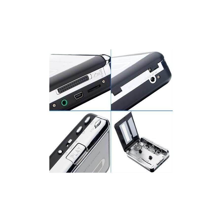 Convertidor de Cassette a Mp3 Audio Digital  Walkman Barato