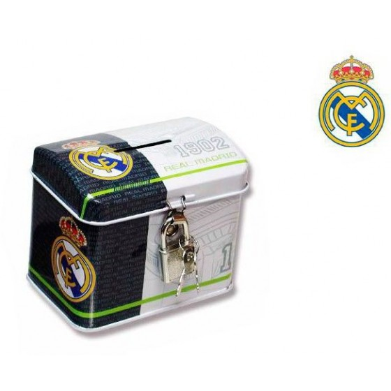 Hucha del REAL MADRID metalica Barata