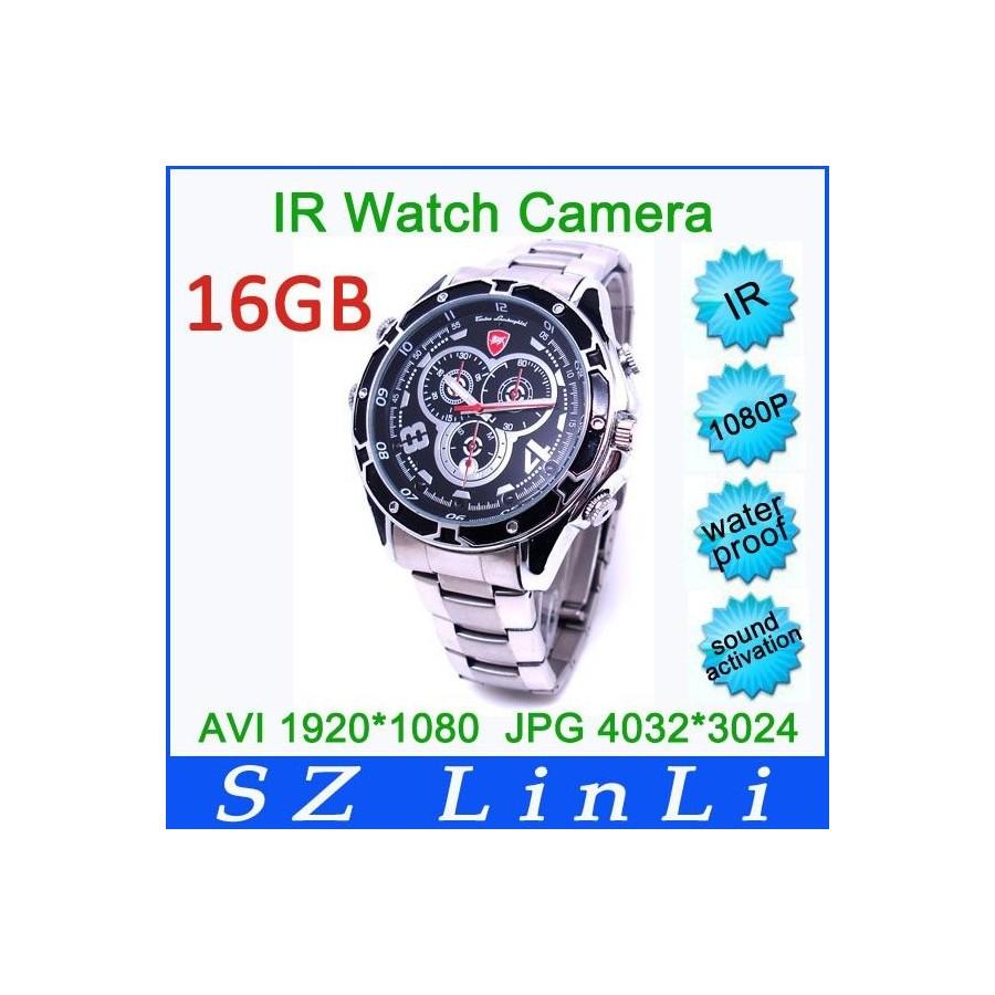 RELOJ con CAMARA de video 1080p Hd 16Gb Barato