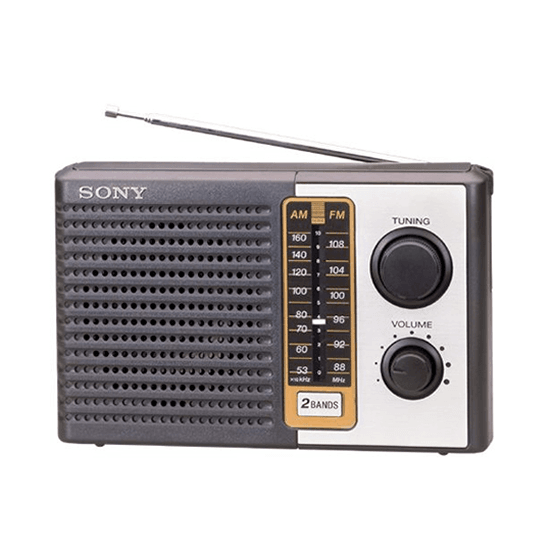 Radio SONY barata Estilo RETRO Am Fm