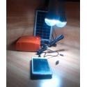KIT SOLAR Barato portatil con luces