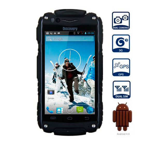 Movil RESISTENTE Android Dual Sim WIFI GPS Barato