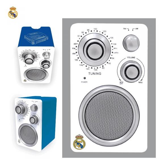 Radio FM del Real Madrid de sobremesa barata