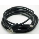Cable micro Usb conector largo cargador para relojes