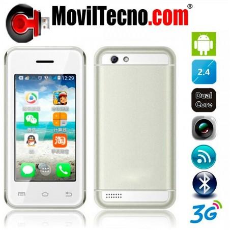 Movil Android 3G MINI 2,4 Pulgadas Libre WIFI Barato