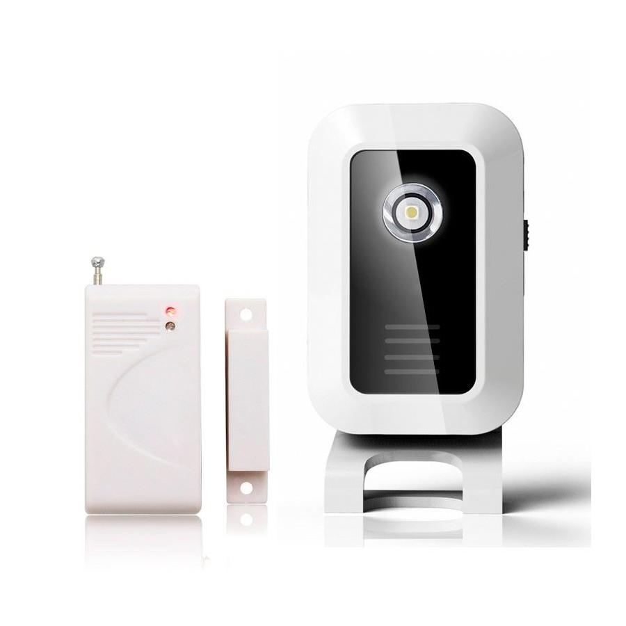 ALARMAS avisador con detector de presencia y puertas