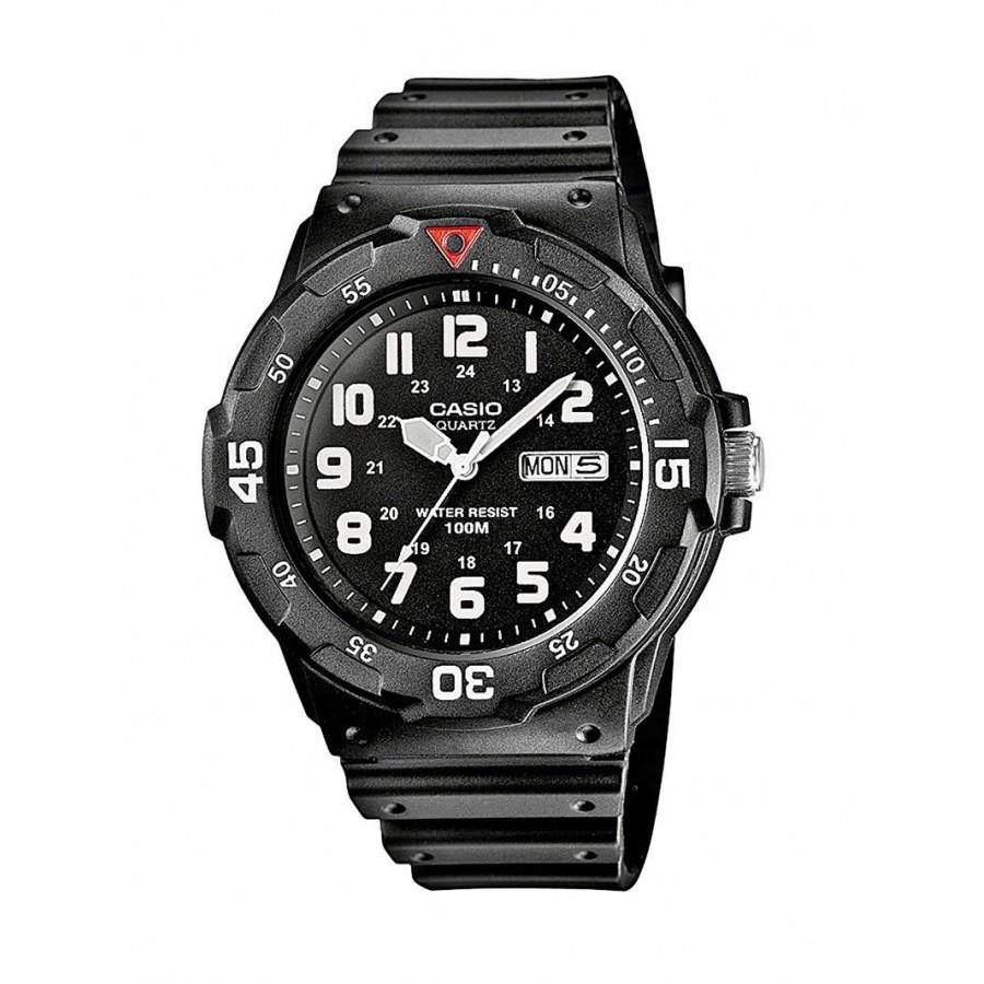 Reloj Casio goma de caballero resistente 100 metros