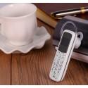 Movil miniatura auricular con tarjeta y bluetooth