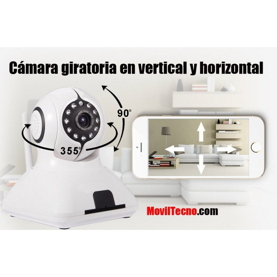 Alarma con cámara de vigilancia y grabador barata