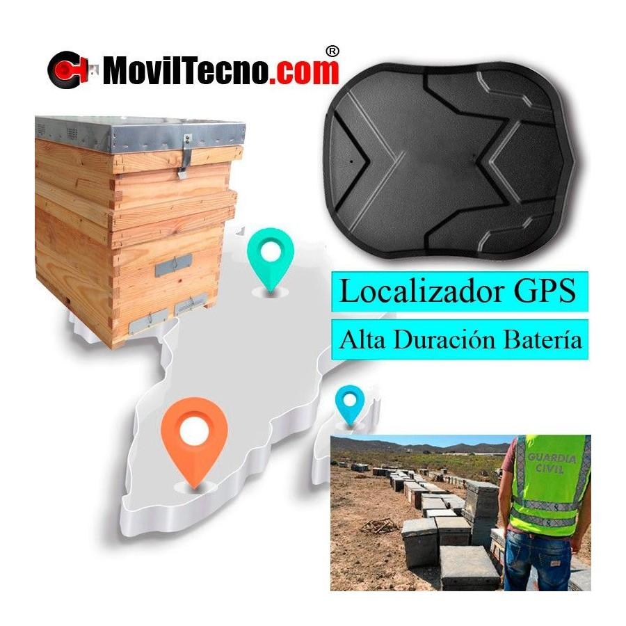Alarma antirrobo con GPS para colmenas