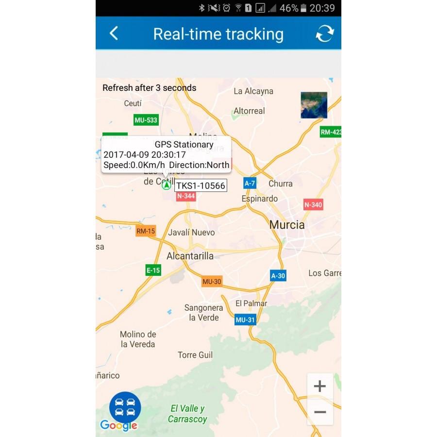 GPS para BICICLETAS y MOTOS localizadores antirrobo