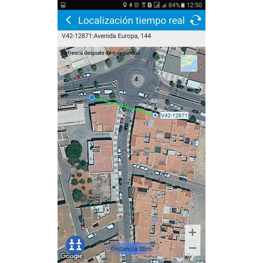 GPS Localizador familiar con camara mayores y Alzheimer