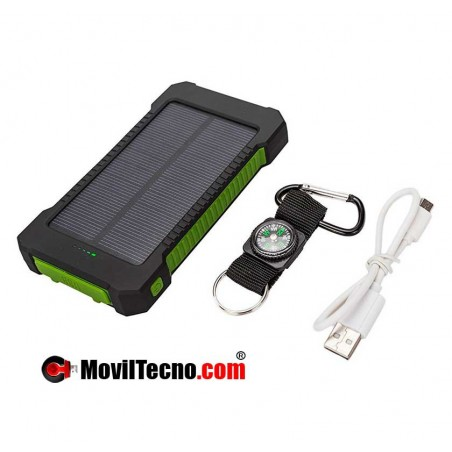 CARGADOR SOLAR portatil para moviles Iphone Android