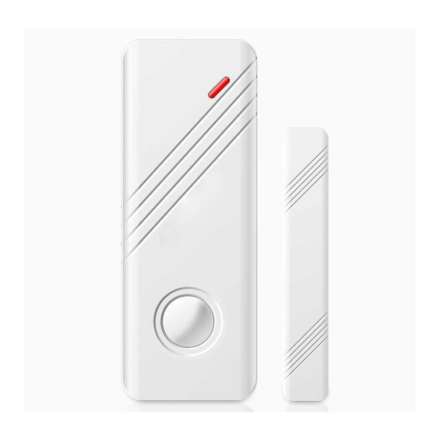 Sensor DOBLE magnetico y por vibracion puertas y ventanas