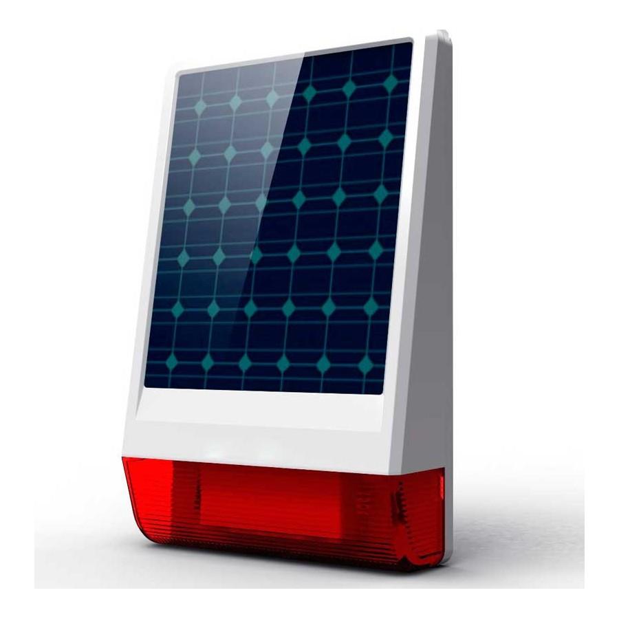 Alarma SOLAR Gsm movil con llamadas