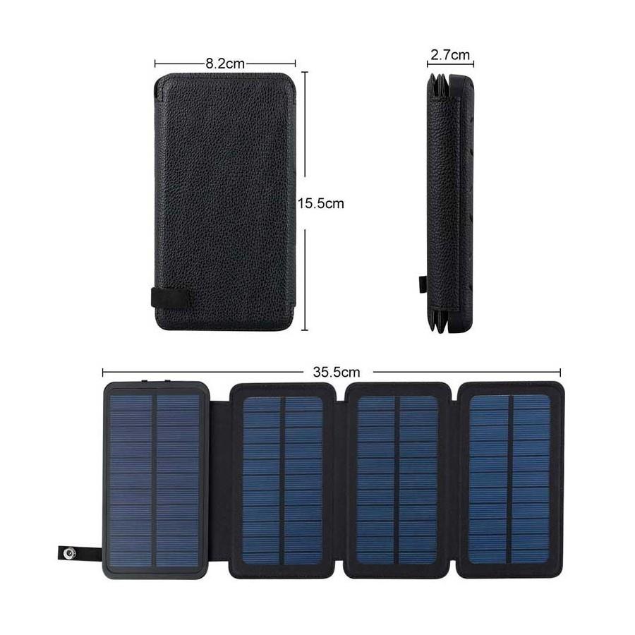 CARGADOR SOLAR portatil para moviles