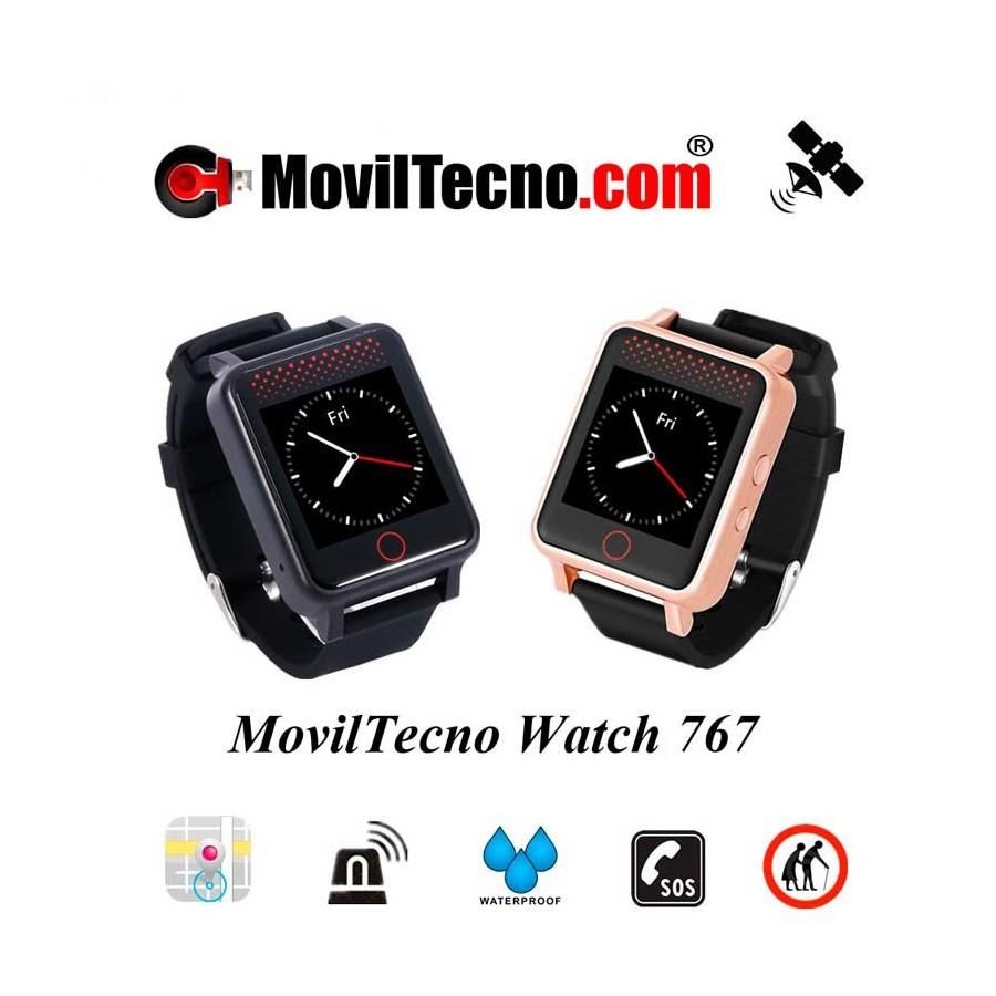 Reloj pulsera GPS para Alzheimer MovilTecno Watch 767