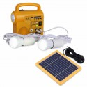 KIT SOLAR con cargador Radio Mp3 linterna portatil