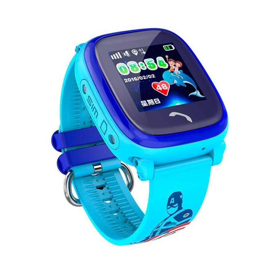 31d8609357a68 Pulsera reloj localizador GPS infantil para niños resistente