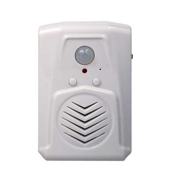 Avisador entrada de personas con sonido mp3 voz