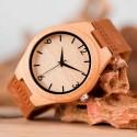Reloj de Madera Bambú ligero y ecológico