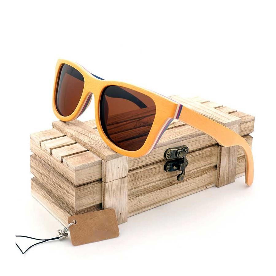 Gafas de sol Madera Bambú MovilTecno Premium