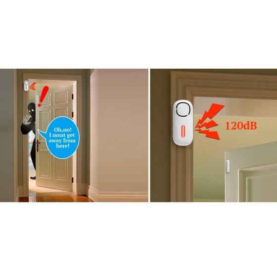 ALARMAS de casa sencillas para puertas y ventanas