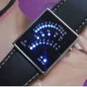 Reloj Digital Fashion de Led Azules Barato