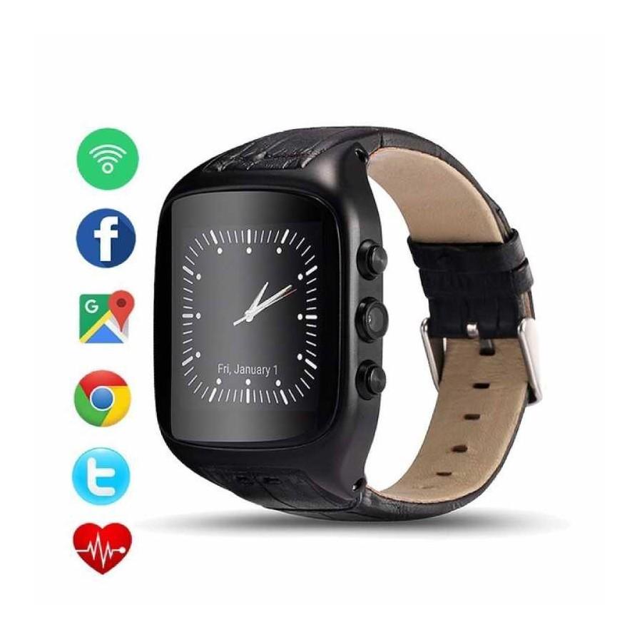 Reloj con whatsapp telefono movil elegante