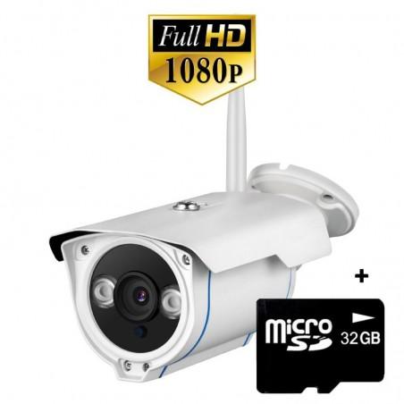 Cámara de vigilancia IP exteriores con grabador barata