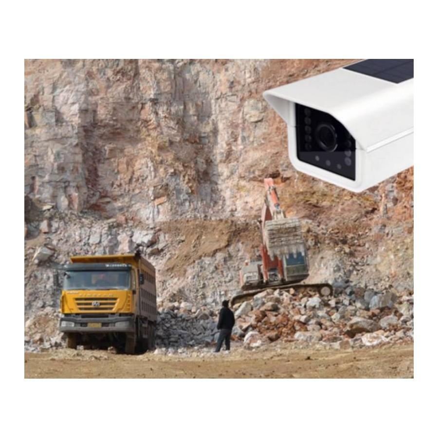 Cámaras vigilancia con placa solar y batería