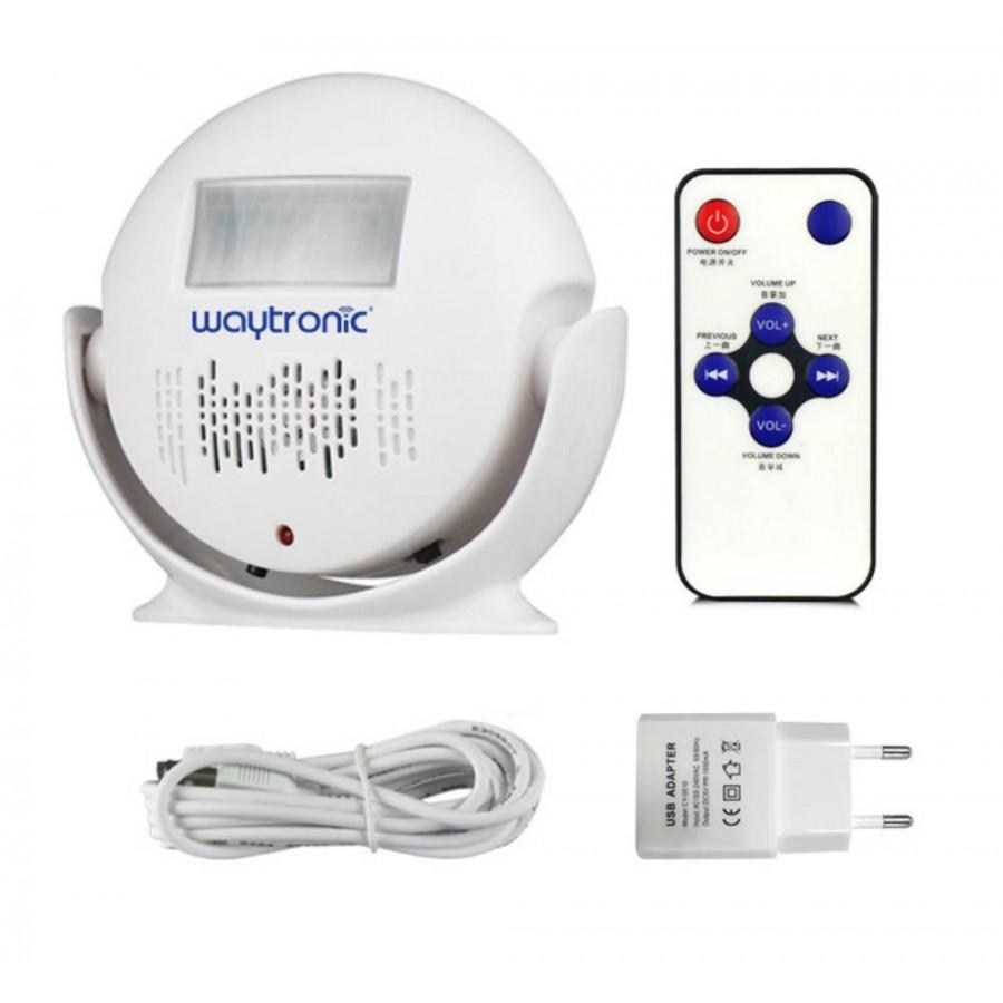 Detector sensor MOVIMIENTOS presencia CON VOZ grabada