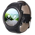 Reloj con Android y telefono movil redondo