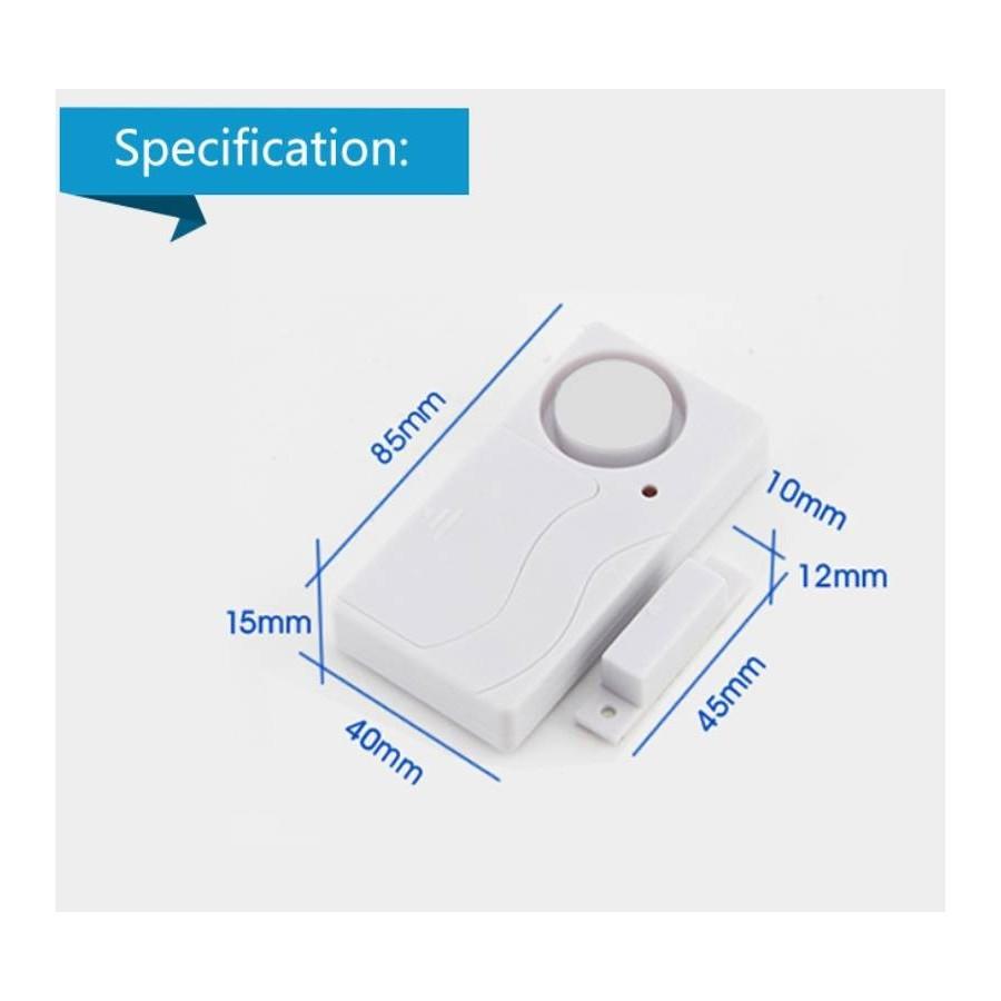 Alarmas para casa magnética puertas y ventanas MovilTecno 800