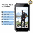 Móvil RESISTENTE antigolpes 4G Android WIFI GPS MovilTecno 802