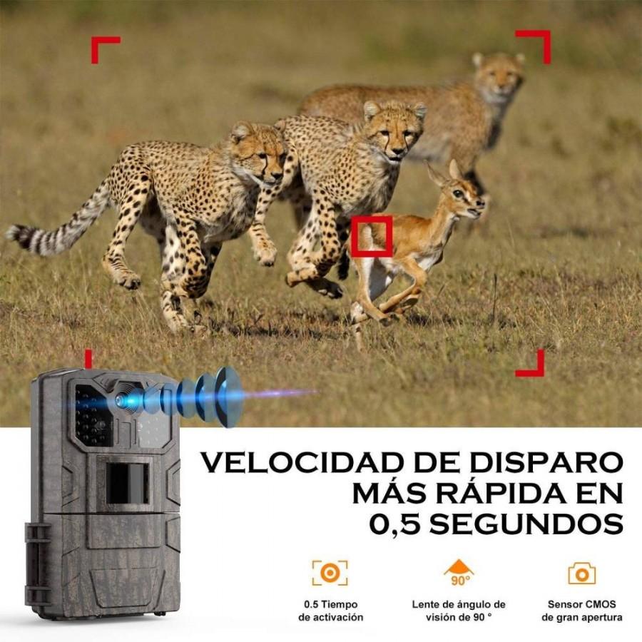 CÁMARA de vigilancia NOCTURNA con PILAS MovilTecno 805