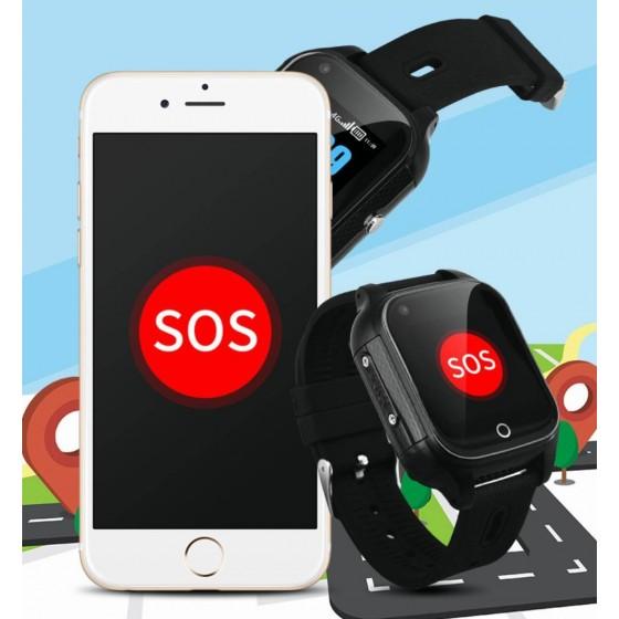 Reloj inteligente con localizador GPS cobertura 4G MovilTecno 795