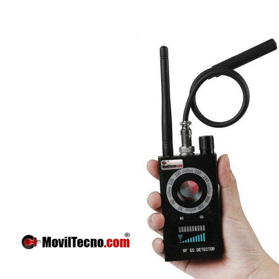 DETECTOR de GPS micrófonos cámaras WIFI ocultas ANTIESPÍA 807