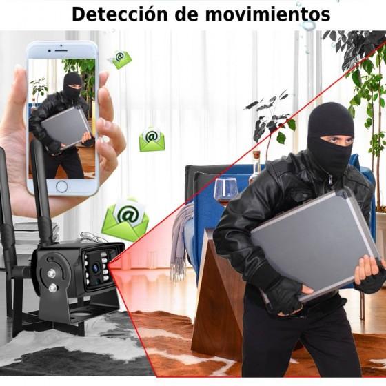 Cámara de vigilancia seguridad 3G 4G MovilTecno 810